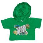 Build-A-Bear Teenage Mutant Ninja Turtles Green Hoodie 021718 NEW w/Tags