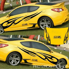 Reflective Personality Flame Totem Car Stickers Bonnet Hood Body Decal Sticker
