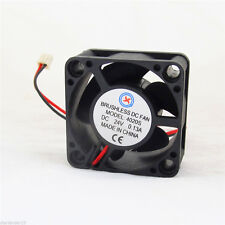 2pcs 40x40x20mm 4020 24V 5 blades Brushless DC Cooling Fan 2pin 2.54 Connector