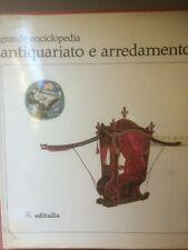 """Del Gaizo""""Grande enciclopedia antiquariato e arredamento"""" IV° vol. Editalia-1967"""
