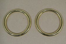 "O Ring - 2"" - Solid Brass - Pack of 2 (F499)"