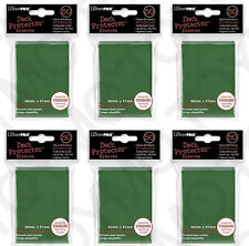 300 6pk ULTRA PRO Deck Protector Card Sleeves Magic Pokemon Standard Green