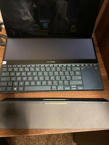 ASUS ZenBook PRO DUO 15.6  Laptop OLED 4K Core i7 16GB RAM 512GB SSD GTX2060