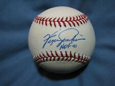 Fergie Jenkins HOF 91 autographed signed OML baseball