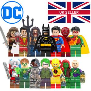 DC Minifigures - Batman Joker Superman Marvel DC Star Wars Green Lantern Reign