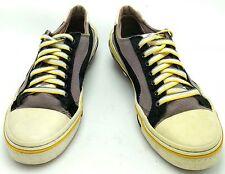 Puma Mihara Yasohiro My 41 Black White Yellow Leather Sneakers Men 9M Shoe MY-41