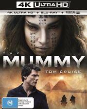 The Mummy 4K ULTRA HD (Blu-ray, 2017, 2-Disc Set), NEW SEALED Tom Cruise