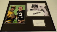 Terry Bradshaw Signed Framed 16x20 Photo Display Steelers w/ Willie Stargell