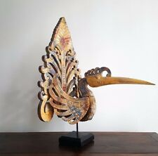 "Bird, ""Garuda"", distressed timber look, decorative, sculpture/figurine, decor"