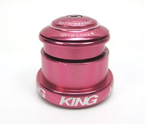 Chris King Inset 3 Headset ZS44 / EC49 Tapered Pink - Made in USA