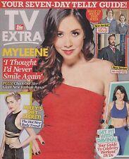 TV Extra Magazine No 59, 19 Jan 2014, Myleene Klass, Gemma Merna,Barry McGuigan