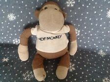 "LARGE PG TIPS TV ADVERT HEY MONKEY 19"" SOFT KNITTED MONKEY TOY EX CONDITION"