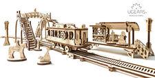 Línea de tranvía ugears-Mecánico de madera Modelo Kit 70028