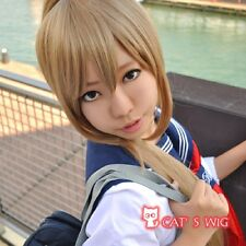 Gintama Okita Sougo Sougo brown cosplay wig