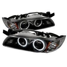Pontiac 97-03 Grand Prix Black CCFL Dual Halo Projector Headlights Lamps