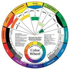 Artists Colour Wheel (24cm Diameter) Mixing Guide Painting Kids Quality