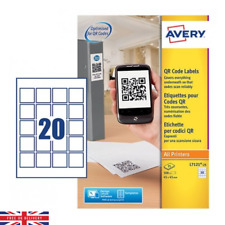 Avery QR Code Labels For All Printers Pack of 500 25 Sheets