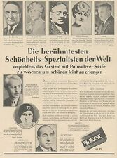 J1450 Sapone PALMOLIVE - Pubblicità grande formato - 1929 Old advertising