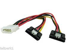 Molex Male to Two (2) SATA Power Connectors