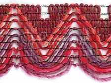 Berroco ::Ric Rac Long Print #1181:: wool acrilic ruffle yarn Azalea