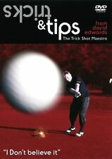 TRICKS & TIPS FROM DAVID EDWARDS DVD NEW..UNBELIEVABLE GOLF TRICK SHOTS AND