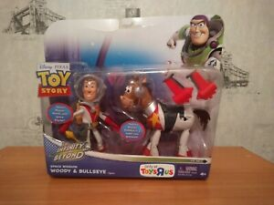 SPACE MISSION WOODY & BULLSEYE Toy Story TO INFINITY AND BEYOND Space Figure