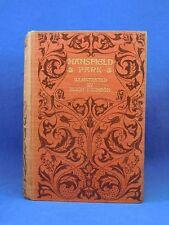 MANSFIELD PARK Jane Austen (author Pride and Prejudice) Macmillan Edition, 1903