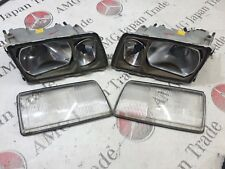 MERCEDES BENZ W126 HEADLIGHTS BOSCH LEFT & RIGHT 1305620453 1305620454 ORIGINAL