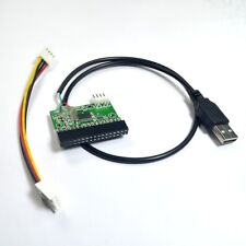 "34pin 1.44mb 3.5"" floppy connector to USB cable adapter PCB board"