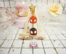 Marvel The Avengers Spider-Man Deadpool Acrylic Keychain Keyring Limited Gift N