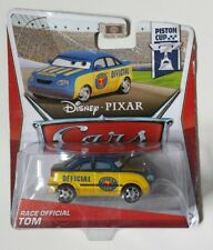 CARS Disney pixar OFFERTA DIFETTO 2013 RACE OFFICIAL TOM mattel piston maclama