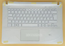 FOR SONY SVF14214CLW SVF14215CLW Keyboard Latin Spanish Palmrest Backlit white