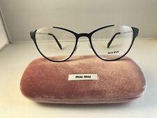 New Authentic eyeglasses Miu Miu VMU 51O EU6 1O1 blue w case 53-19-140