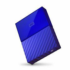 WD 4TB Blue My Passport  Portable External Hard Drive USB3.0 WDBYFT0040BBL-WESN