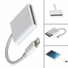 8Pin to SD Card Camera Reader Adapter for iPhone 6 6S 5S iPad Air Mini