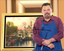 THOMAS KINKADE SIGNED PHOTO 8X10 RP AUTOGRAPHED PICTURE