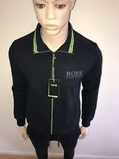 Mens Hugo Boss Navy Zipped Tracksuit Top and Bottom XXLarge RRP £289 Bargain £99