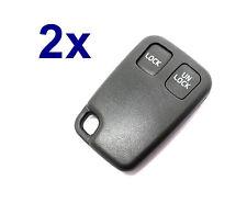 2x 2Tasten Gehäuse für Funkfernbedienung Schlüssel Volvo S40 V40 S70 C70 V70