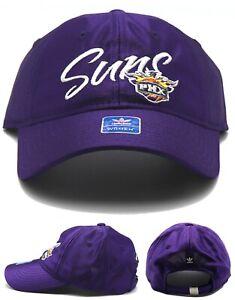 Phoenix Suns New Adidas Ladies Women PHX Script Logo Purple Era Hat Cap