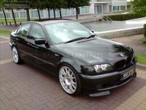 BLACK SMOKED TURN SIGNALS FOR BMW 3 SERIES E46 SEDAN WAGON