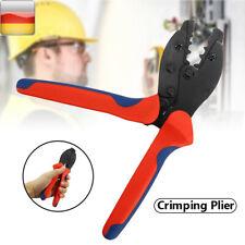 1PC Crimper Crimpzange Crimpwerkzeug Klemmen Stecker Rot NEW