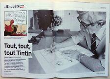 Mag L'Express 2015: HERGE et TINTIN_FRANCE GALL_BRIGITTE MACRON_JEAN MALAURIE
