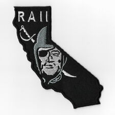 Las Vegas Raiders Map NFL Iron on Patches Embroidered Applique Badge Emblem Sew