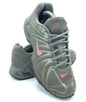Nike Max Air Torch Womens Size 8 Running Shoes Gray Pink Training 317004 060 EUC