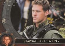 2007 Stargate SG1 Season 9 promo card P1