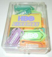 HBO Cinemax Paper Clip Holder PROMO Lot 44 Home Office Bookmark