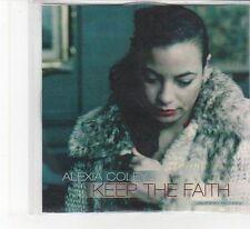 (FB362) Alexia Coley, Keep The Faith - 2013 DJ CD