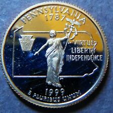 "1999-s  PENNSYLVANIA STATE QUARTER DOLLAR ""PROOF"" 1999-s San Francisco Mint #3"