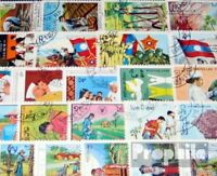 Laos 50 verschiedene Sondermarken