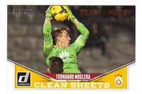 2015 Donruss Soccer Clean Sheets Bronze Press Proof /299 #3 Fernando Muslera